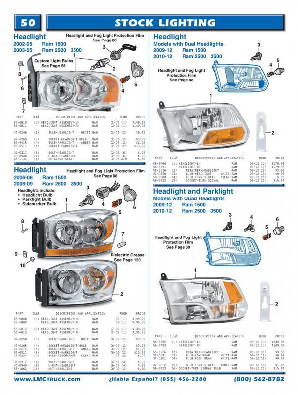 Best Stock Headlight Replacement For 2006 Ram Dodge Cummins Diesel Forum