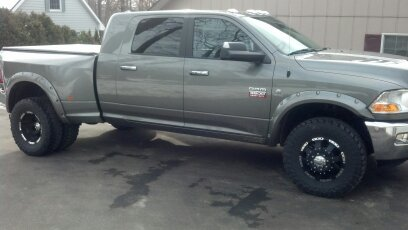 Need 3500 Dually Fender Flares 2016 Dodge Mins Sel Forum