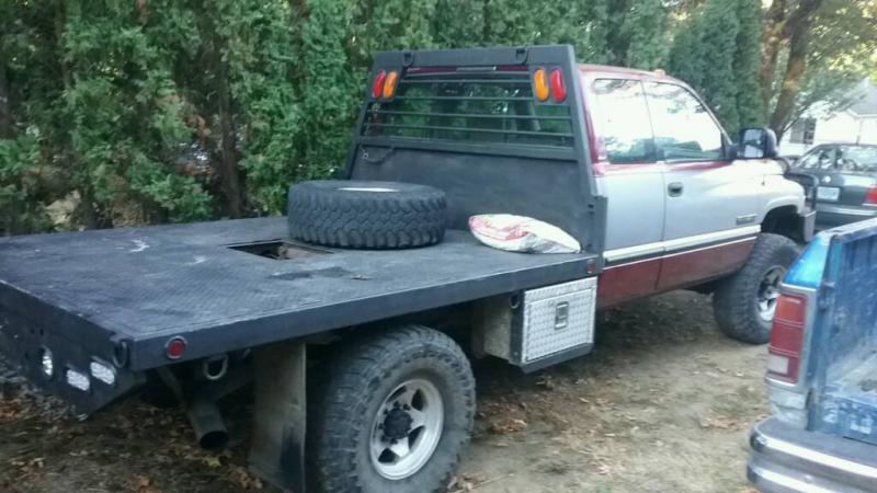 Flatbed Removal From Craigslist Truck Dodge Cummins