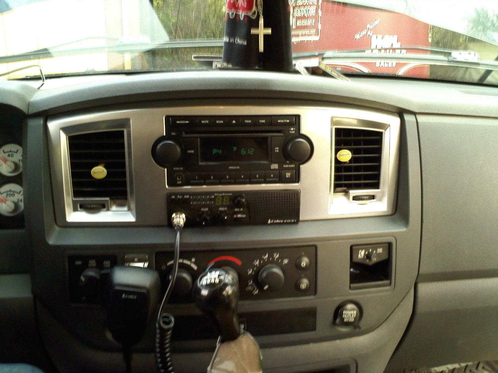 Lone Star Dodge >> Mounting CB radio - Dodge Cummins Diesel Forum