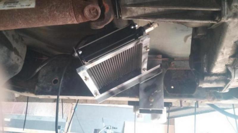 Trans Cooler Dodge Cummins Diesel Forum