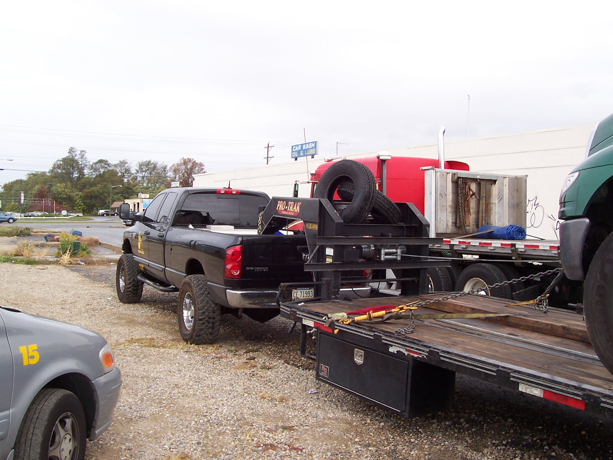 D Body Lift Leveling Kit S on Dodge 2500 With Flat Bed