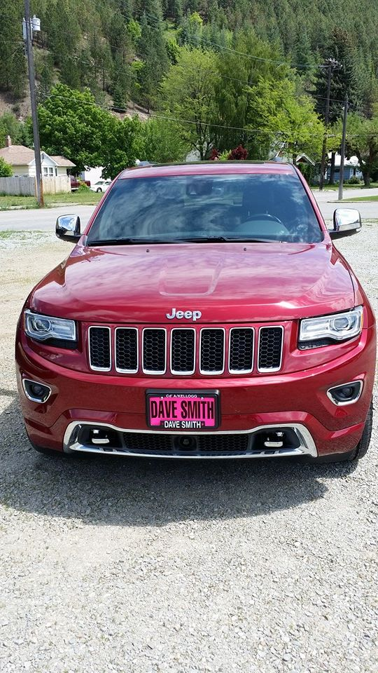 Just got a new 2014 Jeep Grand Cherokee Overland with Eco