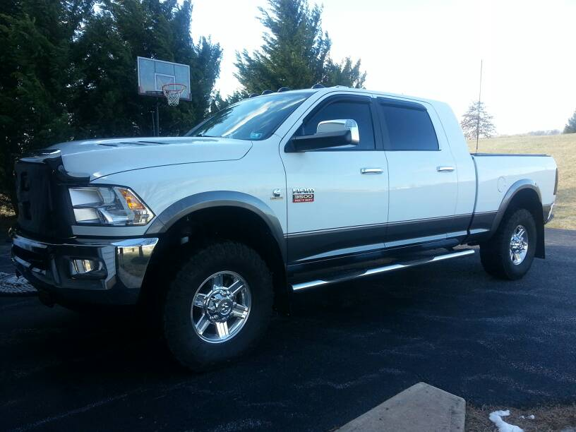 D Who Painted Their Two Tone Laramie on 2006 Dodge Ram 1500 Codes