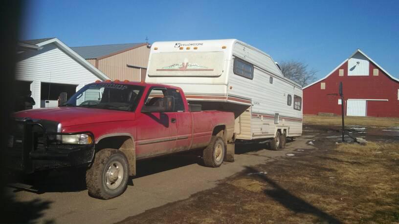 camper towing dodge cummins diesel forum