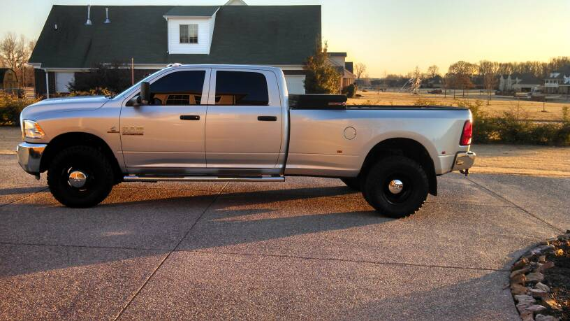 Largest tire for stock DRW - Dodge Cummins Diesel Forum