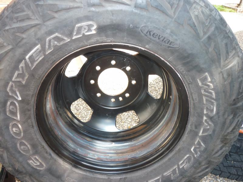 D Custom Wide Steel Dually Wheels Start Finish Wheeljunktire on New Dodge 3500 Dually
