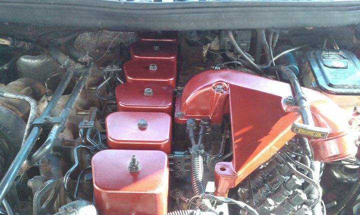 2001 Dodge Cummins >> Painted valve cover/Intake Horn - Dodge Cummins Diesel Forum