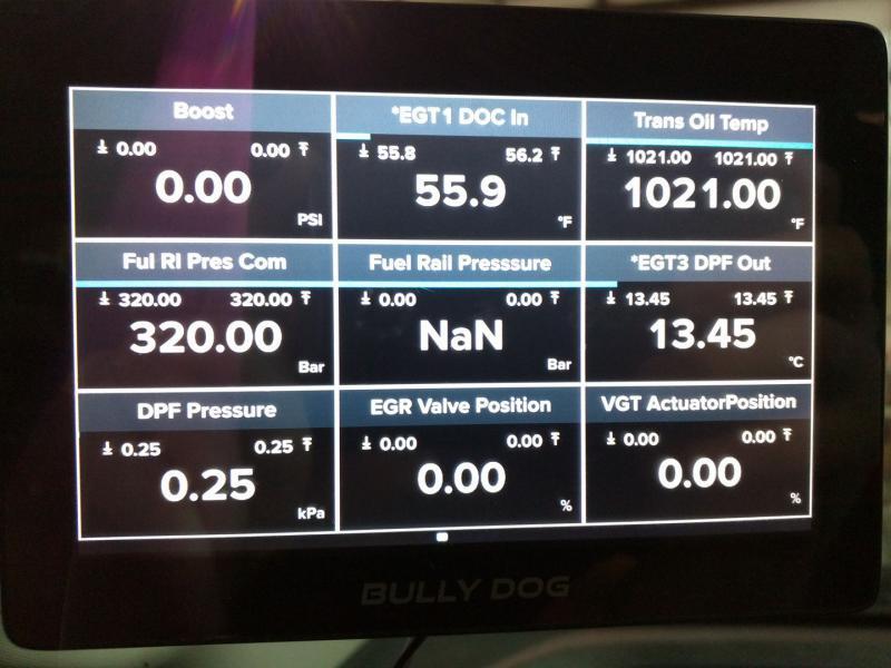 NEW Bully Dog GTX WatchDog Monitor! - Dodge Cummins Diesel Forum