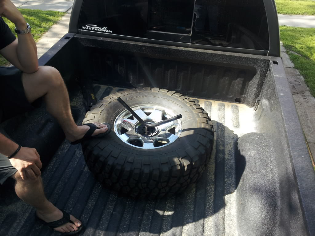 Homemade Spare Tire Mount Using B Amp W Turnover Hitch Page