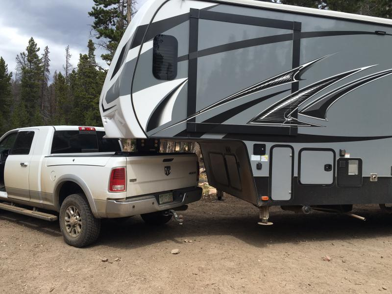 Rambox With 5th Wheel Prep Package Puck System Dodge