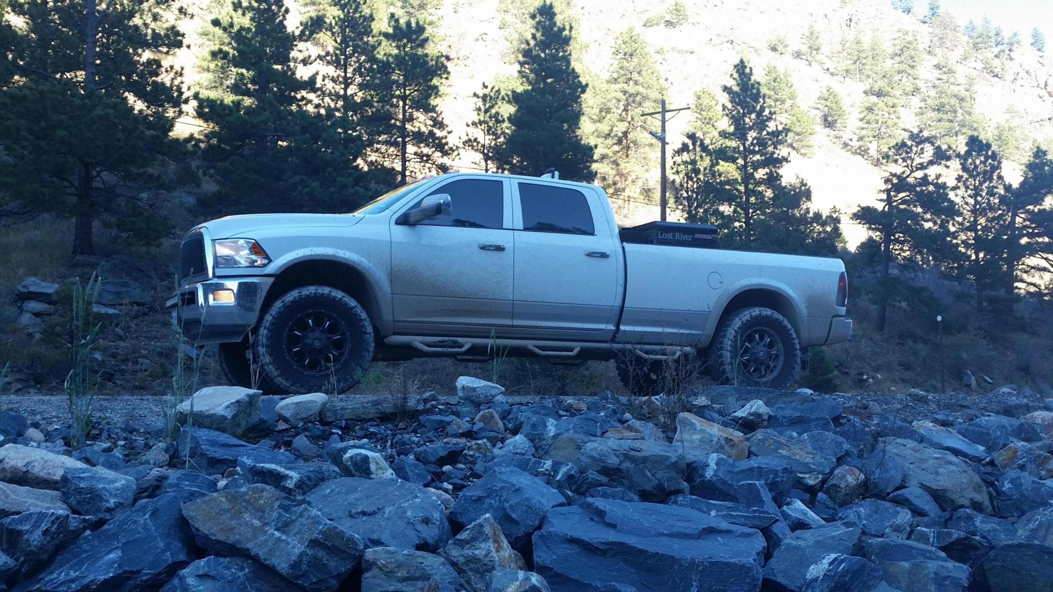show me some pics with lifted 4th gen - Page 19 - Dodge ...