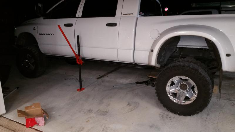 3500 4x4 Mega Cab Rock Sliders - Dodge Cummins Diesel Forum