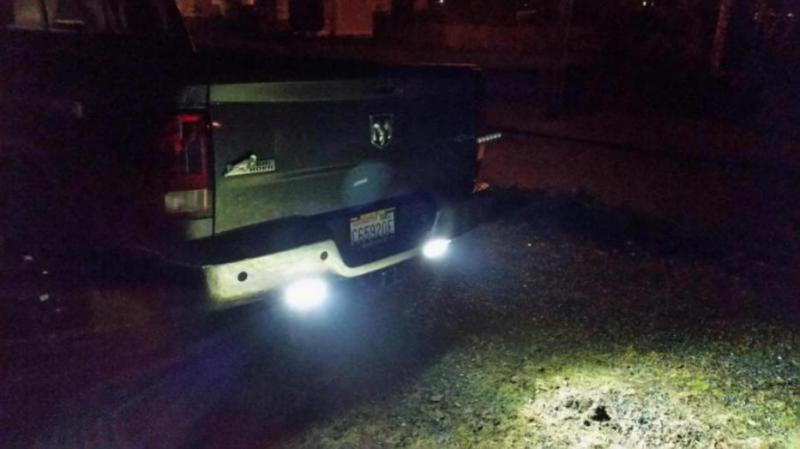 Aux Swithes Backup Lights On 2016 3500 Dodge Cummins