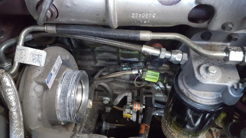 Oil Pressure Sensor Location? - Dodge Cummins Diesel Forum