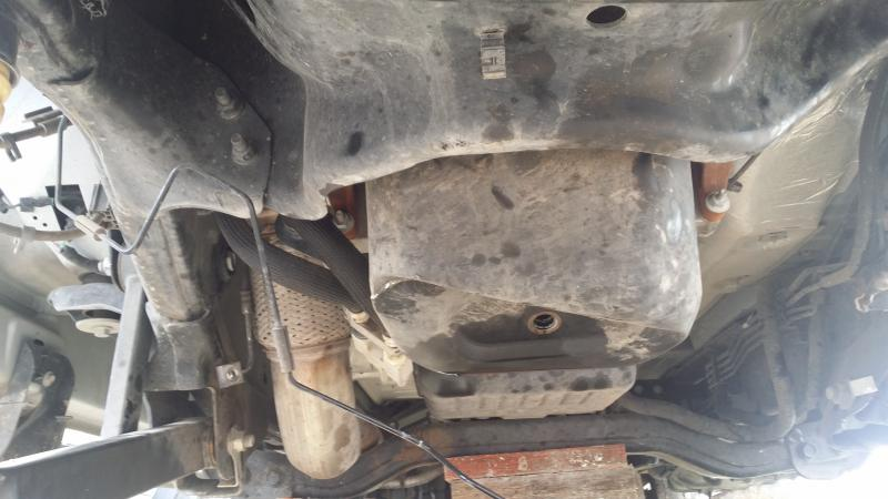Need Help Removing Oil Pan Off 4500 5500 Chassis Dodge
