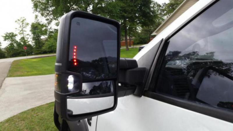 14-17 Chevy mirrors on my 06 Mega. - Dodge Cummins Diesel ...