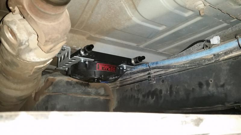 Installing Secondary Trans Cooler Pics Included Dodge