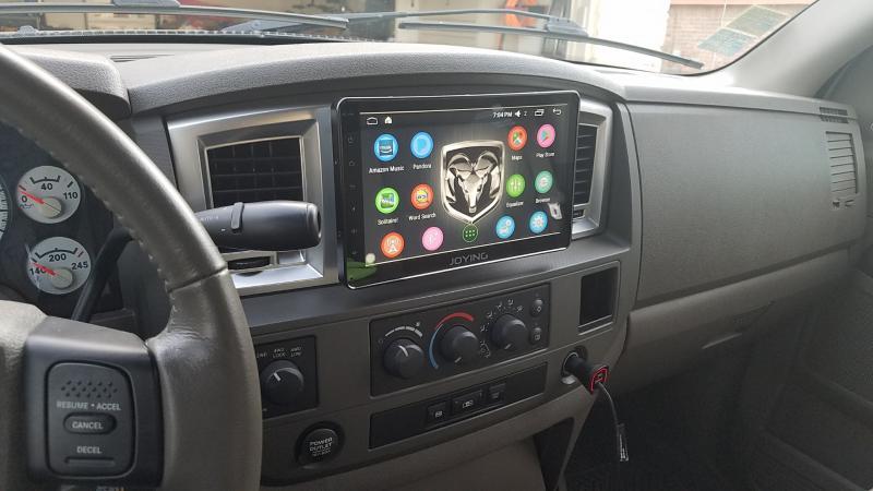 10 1 Quot Head Unit Dodge Cummins Diesel Forum