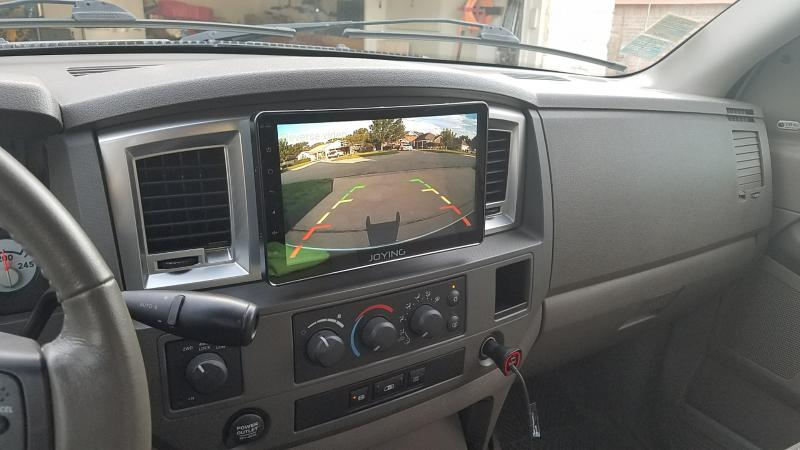 "2017 Dodge 3500 >> 10.1"" Head Unit - Dodge Cummins Diesel Forum"