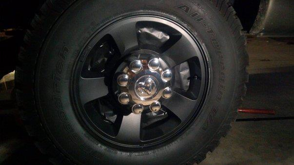 Pictures of stock wheels painted - Page 3 - Dodge Cummins Diesel Forum