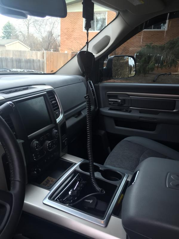 Dodge Ram Cummins >> Share your cb radio install location - Page 2 - Dodge ...