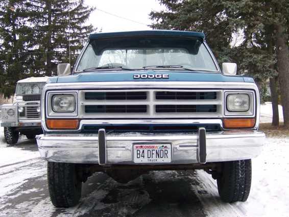 1989 Srw W350 - Dodge mins Diesel Forum