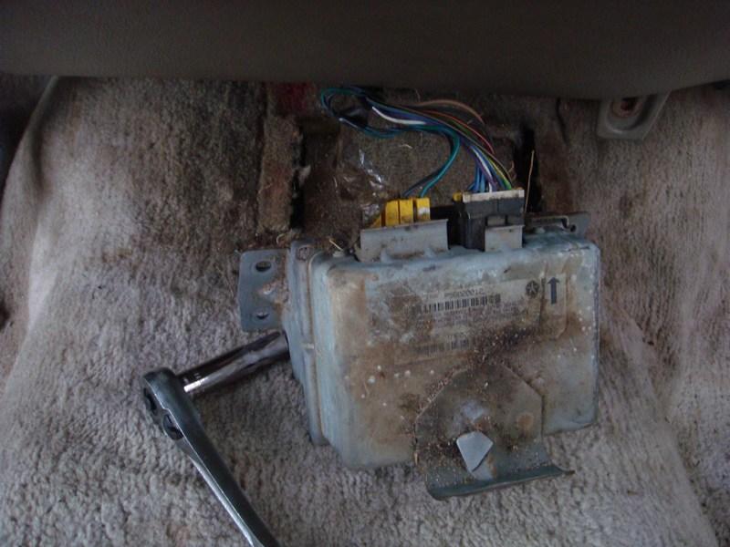 Removing Dashboard - Replacing Evaporator 1995 2500-airbagsensor.jpg