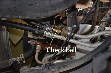 D Found My Transmission Overheating Issue Re Running Hot Ball on Dodge Ram Water