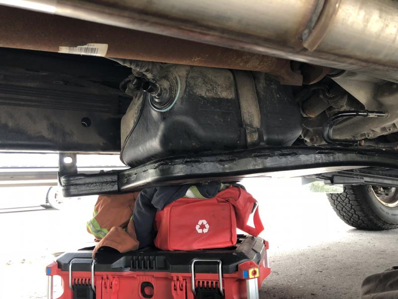 DEF tank removed - Dodge Cummins Diesel Forum