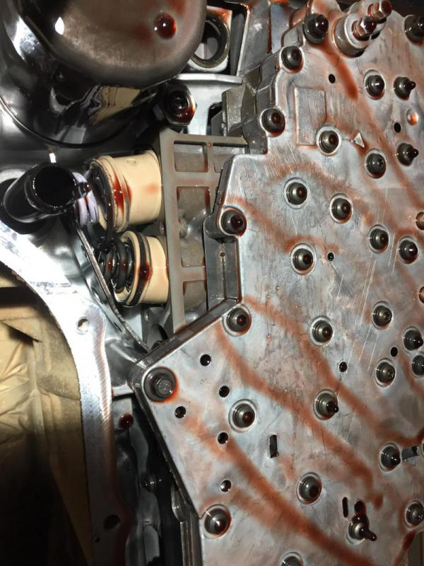 Accumulator Plate Failure On 68rfe Dodge Cummins Diesel