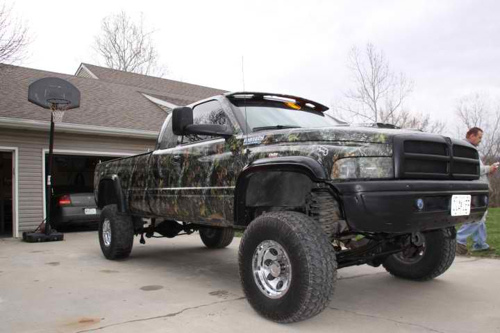 Cummins Diesel Trucks With Stacks Silver truck ideas-dodge-3.jpg