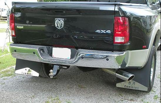 Dodge Ram Dually Mud Flaps