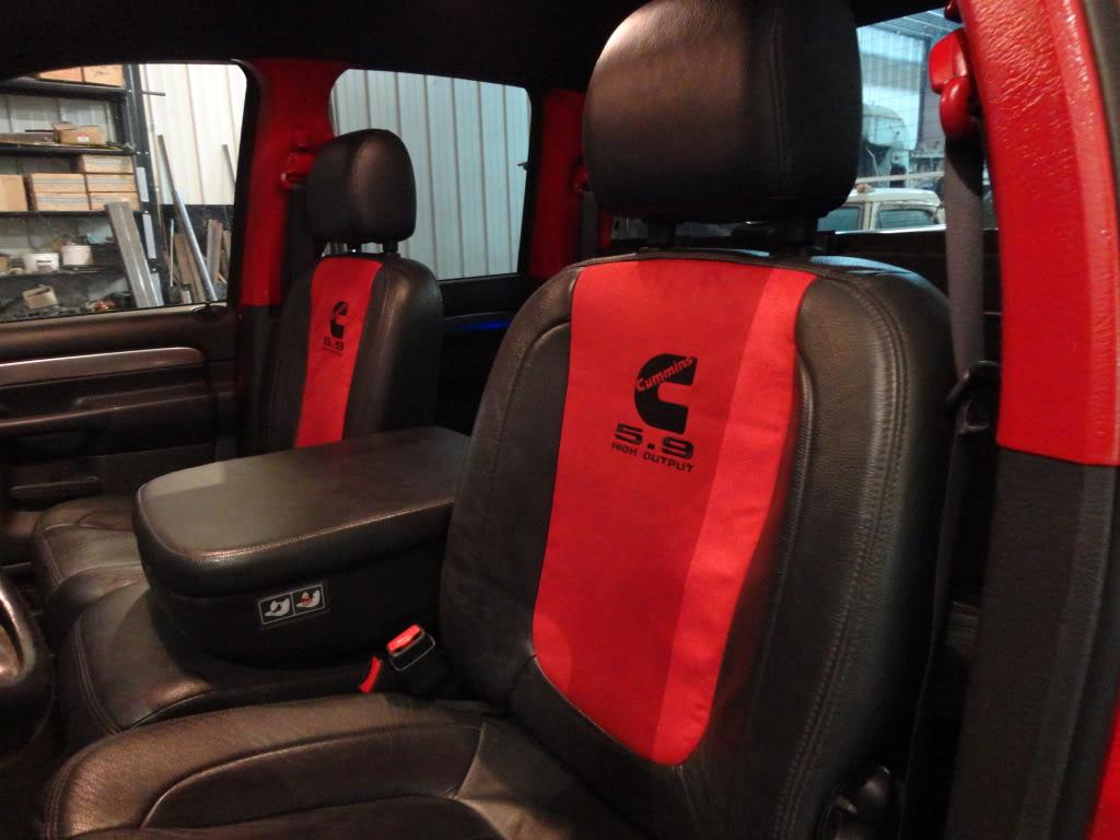 Interior Mods Dsc on Dodge Ram 2500 Diesel