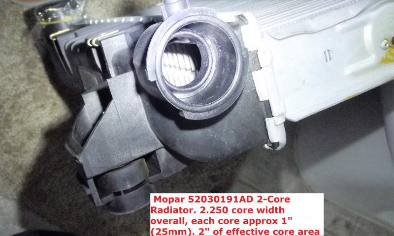 Factory OEM Radiator Differences HELP - Dodge Cummins Diesel