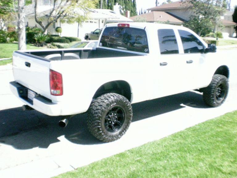 Black H2 Rims On White Truck Page 2 Dodge Mins Sel Forum