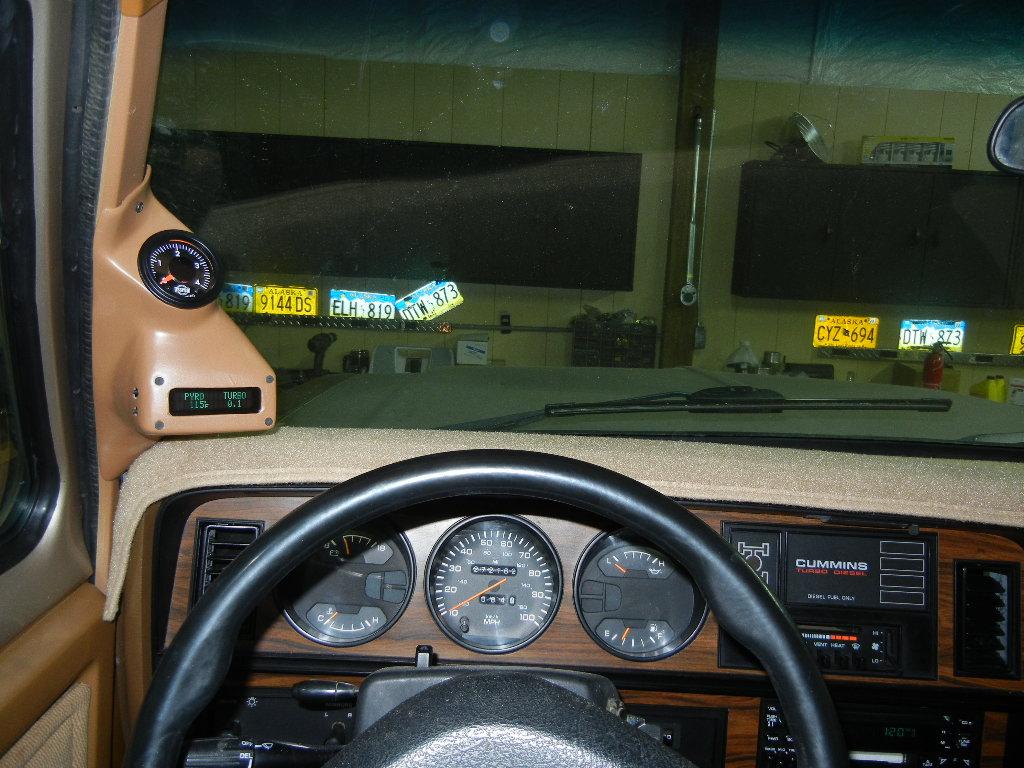Let S See Your First Gen Gauge Mount Dodge Cummins Diesel Forum