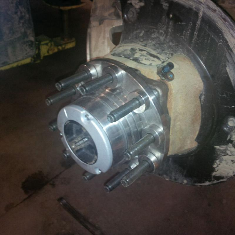 locking hub install  pics dodge cummins diesel forum