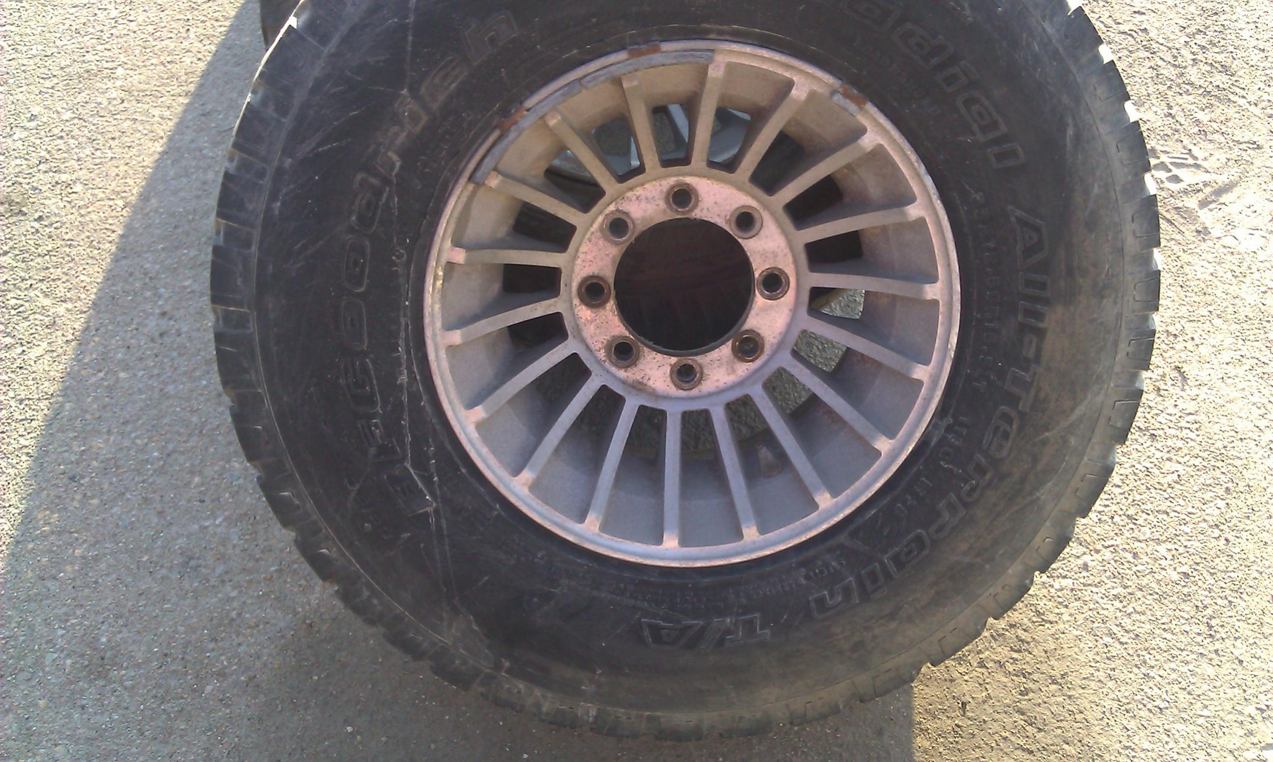 89 dodge ram bolt pattern