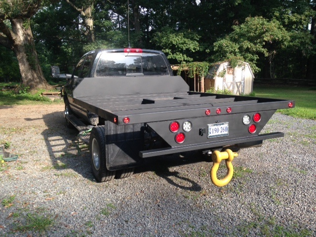 how to build a flatbed