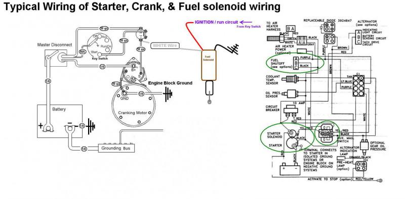 cummins starter wiring diagram