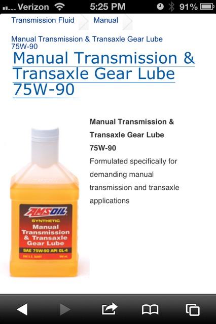 g56 transmission fluid amsoil
