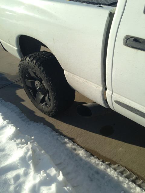 side exit exhaust dodge cummins diesel forum