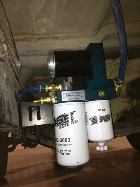 Fuel Pressure Gauge Install On Fass 150 Dodge Cummins