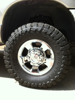 Pics of powder coated rims - Page 2 - Dodge Cummins Diesel ...