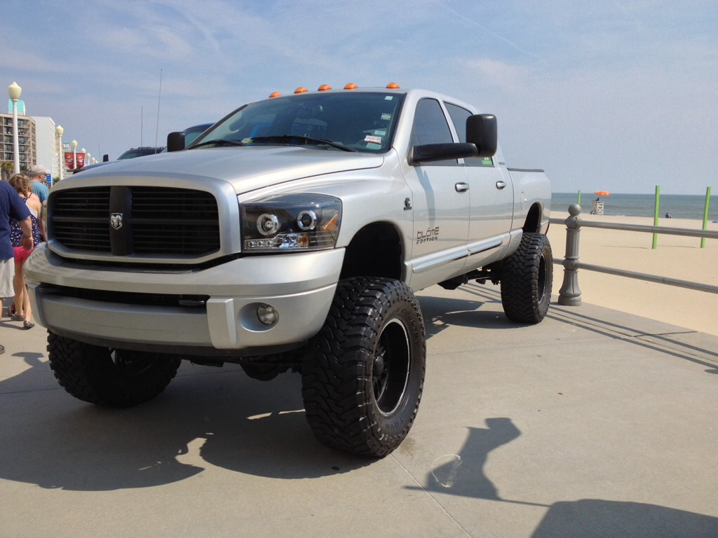 "Old Dodge Ram >> American Expecition Vehicles, AEV - SEMA build, 3"" lift, 40"" tires, bumper - Dodge Cummins ..."