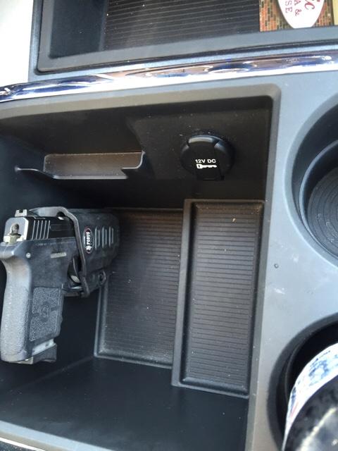 Dodge Cummins Diesel Forum Pistol Holster Mount