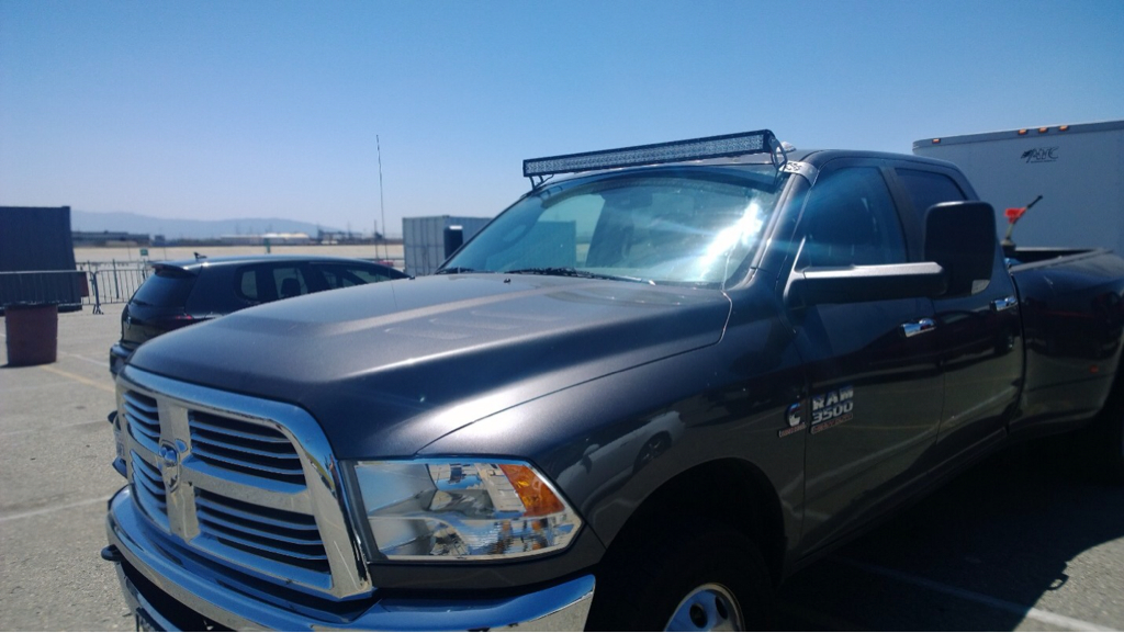 Roof Mounted light Bars - Dodge mins Diesel Forum