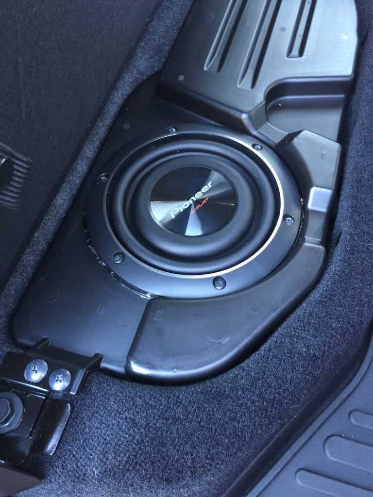 Alpine OEM subwoofer and dash speaker upgrade - Dodge ...