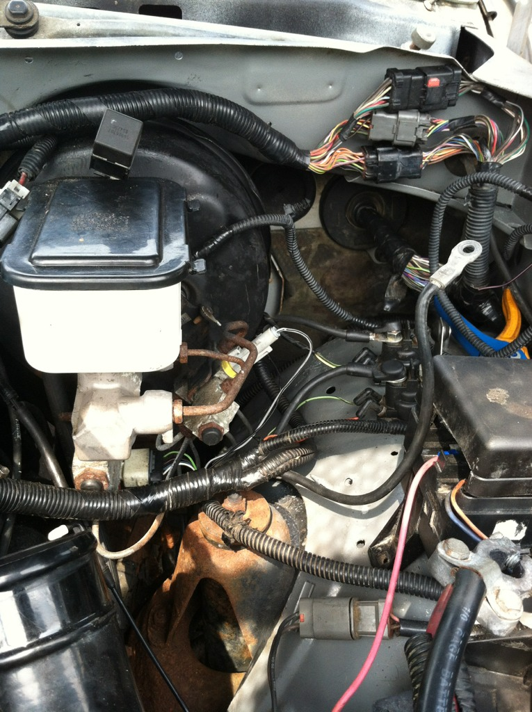 Engine Compartment Wire Routing